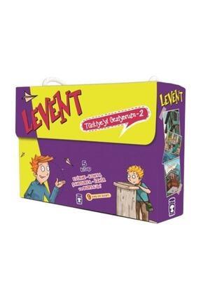 Timaş Çocuk Levent Türkiyeyi Geziyorum Set -2 - 5 Kitap Timaş