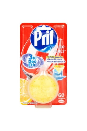 Pril Deo Limon Bulaşık Makine Kokusu 3lü Etki