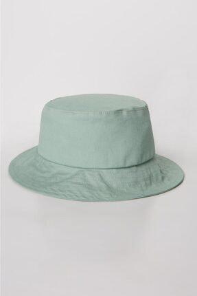 Luminos Butik Kadın Mint Bucket Şapka Spk01