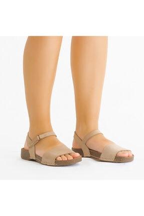 KEMAL TANCA Kadın Derı Sandalet
