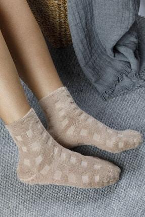 English Home Towel  Modal Çorap Koyu Bej