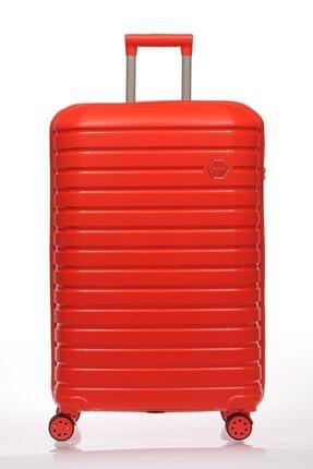 Fossil Reymond Kırmızı Unisex Valiz&bavul