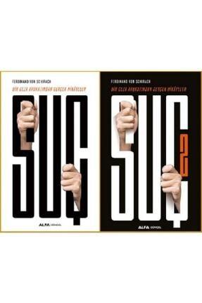 Alfa Yayınları Suç 1-2 (BİR CEZA AVUKATINDAN GERÇEK HİKAYELER) - 2 Kitap Set / Ferdinand Von Schirach /