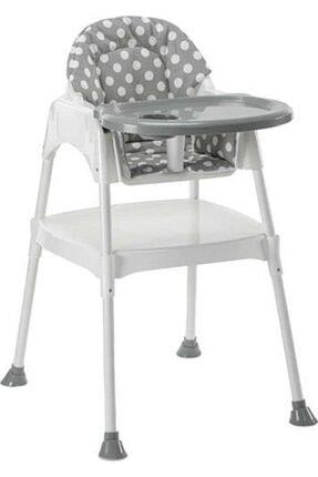 Moje Çok Fonksiyonlu Mama Sandalyesi - Kılıflı Gri
