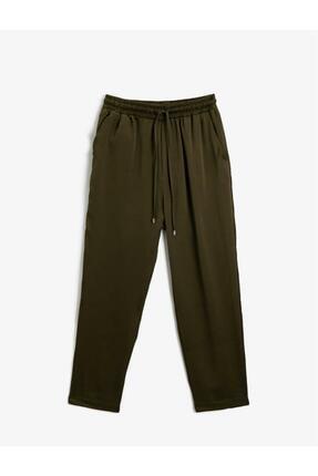Koton Kadın Belden Baglamali Pantolon