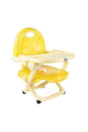 Chicco Sarı Booster Seat Pocket Snack Portatif Mama Sandalyesi