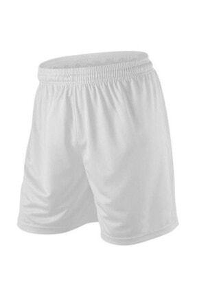 Pasxaspor Erkek Futbol Halısaha Fitness Beyaz Şort