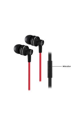 Rampage Kulaklık Mikrofonlu Phoenix Siyah-kırmızı