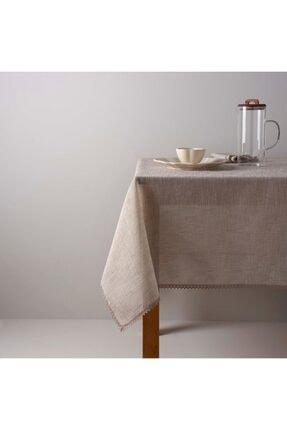 Linens Mirabelle 150x250 cm Masa Örtüsü Bej