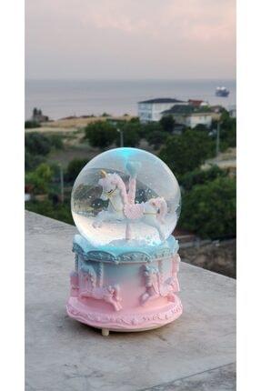 BENT Atlı Karınca Tasarımlı Renk Değiştiren Müzikli Ve Işıklı Orta Boy Kar Küresi