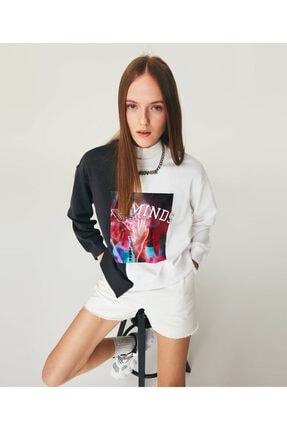 Twist Colorblock Sweatshirt