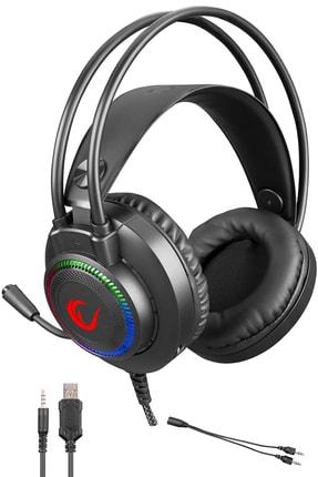 Rampage Rm-k27 X-jammer 3,5 Mm 7 Renk Ledli Gaming Oyuncu Mikrofonlu Kulaklık