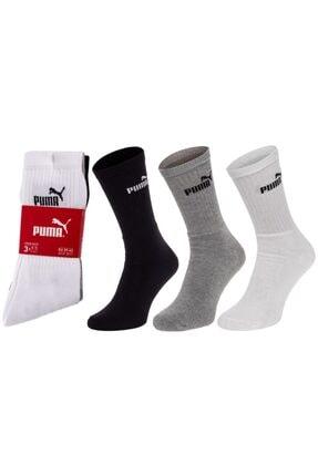 Puma 883296-10 Üçlü Çorap
