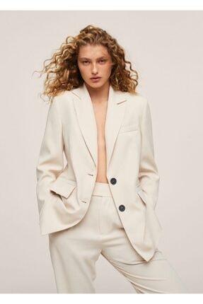 MANGO Woman Kumaş Blazer Ceket