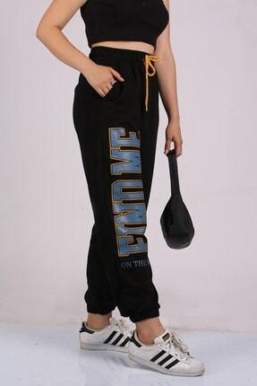 Madmext Mad Girls Siyah Eşofman Mg1101