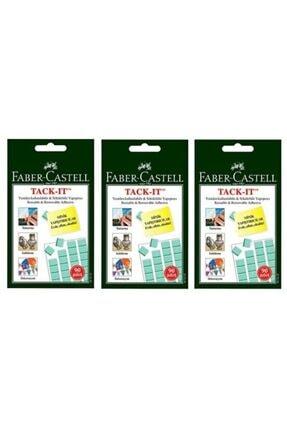Faber Castell Tack It Sakız Yapıştırıcı (3 Paket)