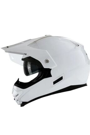 VENOM Kross Motosiklet Kaskı Mp02 Beyaz