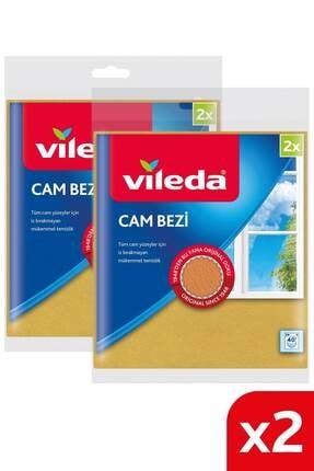 Vileda +%30 Mikrofiberli Cam Bezi 2'li X 2 Paket