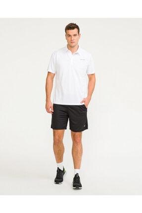 SKECHERS Erkek Beyaz Polo Yaka Tshirt