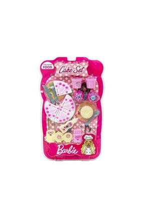 Yeni Konsept Barbie Oyuncak Pasta Ve Tatlı Çeşitleri Lisanslı Kod214