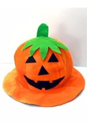 c-alışveriş Parti Yaprak Şapkalı Cadılar Bayramı Halloween Balkabağı Şapkası