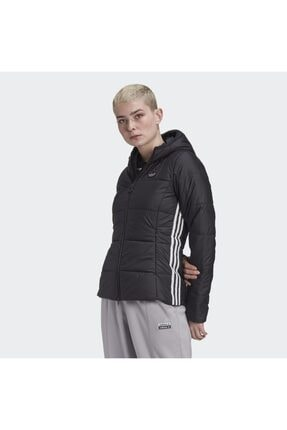 adidas Kadın Siyah Slim Jacket Mont