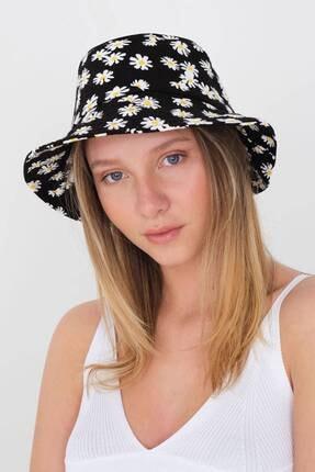 Addax Desenli Bucket Şapka Şpk12323 - E4