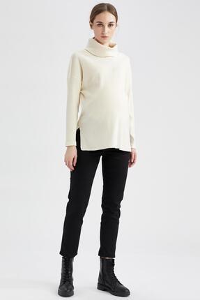 DeFacto Kadın Siyah Basic Skinny Fit Hamile Pantolonu