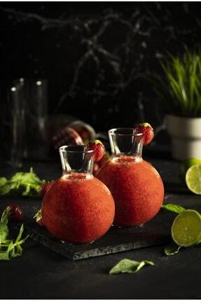 EARABUL 2 Adet Tombul Sunum Bardağı - Trend Meyve Suyu Ve Içecek Bardağı - 2'li Set