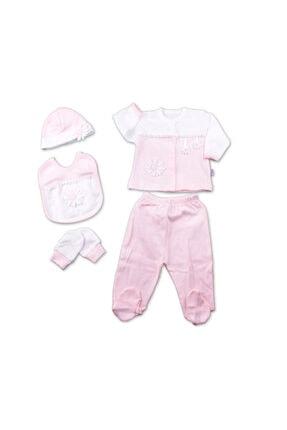 Chicco Gaye Bebe 5'li Hastane Çıkışı - Papatya Pembe