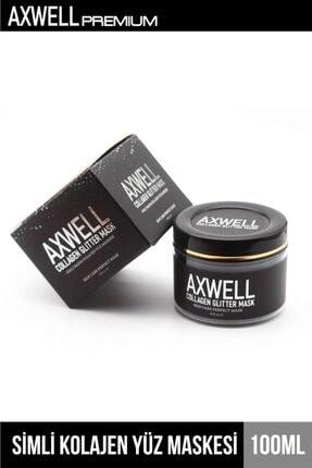 AXWELL Arındırıcı Simli Collagen Maskesi Sivilce - Siyah Nokta 100 Ml