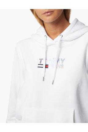 Tommy Hilfiger Tjw Slım Metal Corp Logo Hoodıe