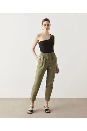 İpekyol Ekose Desen Tencel™ Pantolon