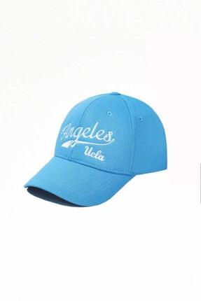 UCLA Sonoma Mavi Baseball Cap Nakışlı Şapka