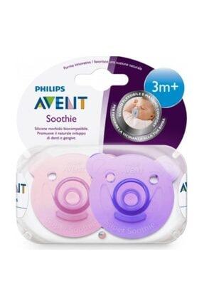 AVENT Philips Soothie Yalancı Emzik 3+ Ay Kız 2'li