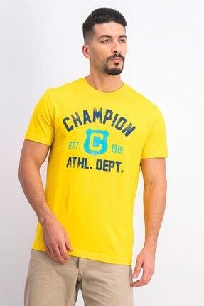 Champion Tshirt Easyfit Athl. Dept. Sarı