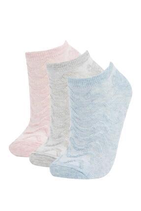 DeFacto Patik Çorap 3'lü