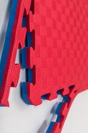 Duyu Atölyesi Kırmızı Mavi 26mm Tatami Minder Zemin Kaplama 100x100cm 26 Mm Kalınlık Kırmızı Mavi 1 Adet
