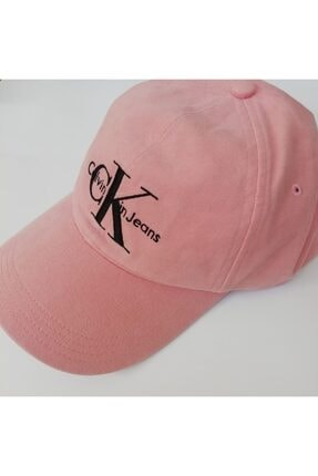 Calvin Klein Ck Pembe Kadın Şapka