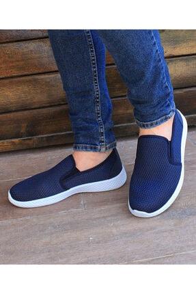 Shonex Erkek Lacivert Günlük Babet Ayakkabı