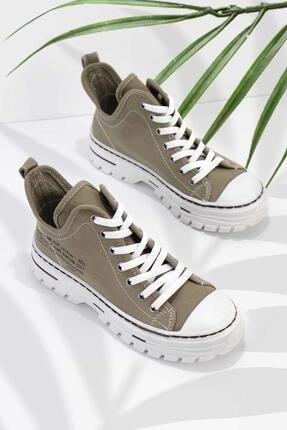 Bambi Haki Kadın Sneaker K01779000118