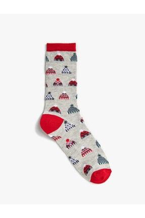 Koton Kadin Desenli Pamuklu Çorap
