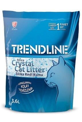 Trendline Slica Parfümsüz Kristal Kedi Kumu 3,6 Lt