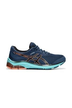 Asics Kadın Mavi Turuncu Koşu Ayakkabısı