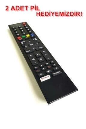 Arçelik Beko Altus Grundig Smart Lcd Led Uyumlu Tv Televizyon Kumandası Netflix Tuşlu