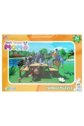 Koza - Oyuncak Market Akıllı Tavşan Momo Yapboz 24 Parça Puzzle Model 3