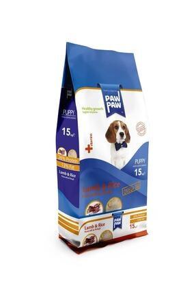 Paw Paw Kuzu Pirinçli Yavru Köpek Maması 15 kg