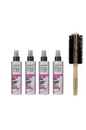 Vepa Saçlara Doğal Dalgalı Görünüm Kazandıran Saç Spreyi 60 ml 4 Adet+ Doğal Saç Fırçası