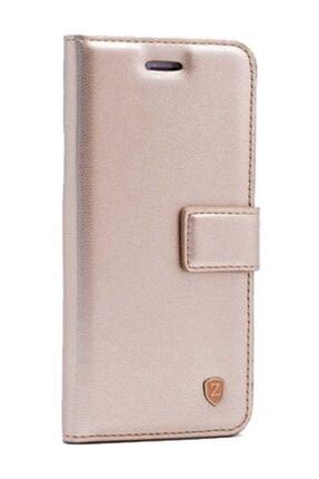 MobilCadde Kar Deluxe Samsung Galaxy Note 10 Lite Uyumlu  Kapaklı Cüzdanlı Gold Deri Kılıf
