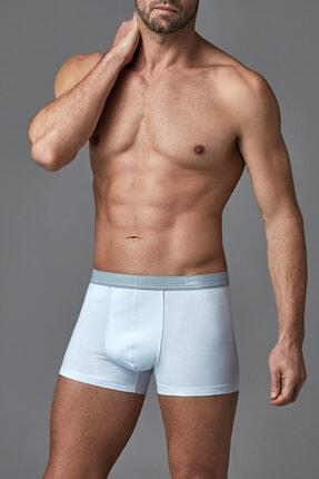 Dagi Erkek Beyaz Penye Compact Düz Boxer